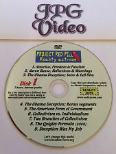 Project Red Pill: Reality Activism DVD 9 Part Documentary