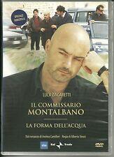 DVD Il commissario Montalbano. La forma dell'acqua