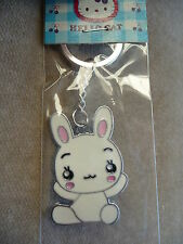 CUTE WHITE RABBIT MOBILE PHONE/PURSE CHARM BRAND NEW