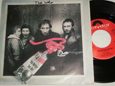 "7"" - The Who / You better you bet & Quiet One - MISPRINT DUTCH 1981 # 0627"
