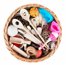 Treasure Basket for Childcare Professionals - Large 35+ items -  EYFS