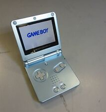 Nintendo GameBoy Advance SP Console-Blue-Model#AGS-101-WORKS-