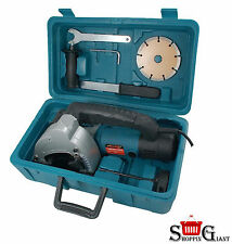 Professional 1500W 240V Electric Wall Chaser  Saw + Free Accessories 8500rpm