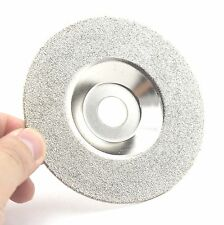 """4"""" Grit 60 Diamond coated grinding disc wheel For Angle Grinder  Coarse Glass"""