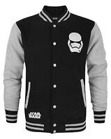 Official Star Wars Force Awakens First Order Stormtrooper Men's Varsity Jacket