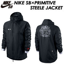 NIKE SB Light Weight Jacket Coat Black RRP £110 MEDIUM