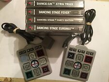 4 ps1 Danza Danza PLAYSTATION 1 giochi e 2 MINI DDR palmare delle dita Mats Bundle