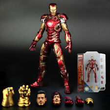 MARVEL SELECT IRON MAN MK43 MARK XLII ARMOR AGE OF ULTRON Action Figur Spielzeug