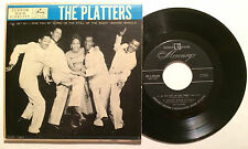 """THE PLATTERS 45 EP """"IN THE STILL OF THE NIGHT / I'LL GET BY / WAGON WHEELS (VG+)"""