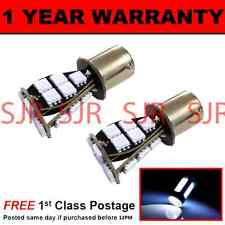 382 1156 BA15s XENON WHITE 21 SMD LED HI-LEVEL BRAKE LIGHT BULBS X2 HBL201701