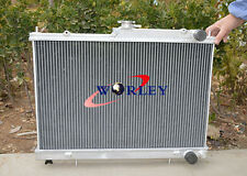 ALUMINUM RADIATOR For NISSSAN SKYLINE R33 GTS-T RB25 MANUAL