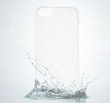 Hot белый Clear 0.2mm Rubber Silicone TPU Soft Back Cover Case For IPhone 5 5s