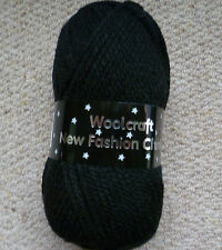 Woolcraft New Fashion chunky hand knitting wool 1x100grm ball Various Colours