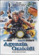 Dvd video **AGENZIA OMICIDI** con Nick Nolte Katharine Hepburn nuovo 1984