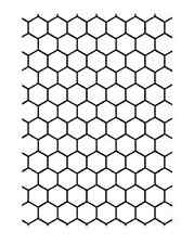 "Darice EMBOSSING FOLDER ""Honeycomb Background"" 5""x7"" 1218-94 USE WITH DIE CUTTER"