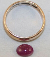 Natural Ruby LOOSE GEM 6x8mm OVALE CABOCHON 1,7 ct Gemstone ru29