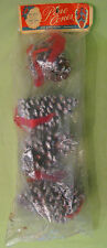 1950s Vintage Pine Cone Decorations by Star Band Company