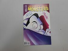 Grumpy Old Monsters #2! SIGNED by Kevin J. Anderson and Rebecca Moesta! VF/NM9.0