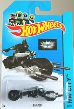 Hot Wheels  1:64 Batman - BAT POD - BATBIKE - Batmobil