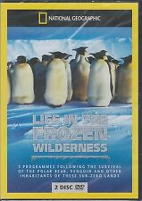 NATIONAL GEOGRAPHIC - LIFE IN THE FROZEN WILDERNESS (NEW/SEALED 2xDVD SET 2010)