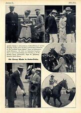 Die grosse Woche in Baden-Baden Der Graditzer Hengst Hammurabi  Sieger im...1906