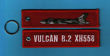 Vulcan XH558 embroidered Key Ring/Tag - New