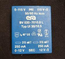 Trasformatore da  circuito stampato Prim. 220V - Sec. 12Volt  x 2