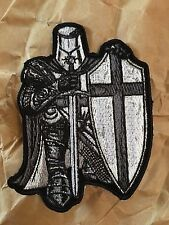 Black Crusader Knight Patch