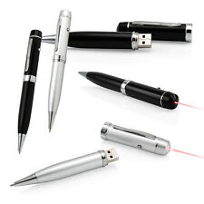 3 in 1 8GB Executive Pen with Built In USB Flash Memory Drive and Laser Pointer