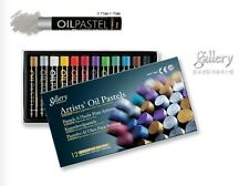 Metallic Oil Pastel for Artist Mungyo 12 - Assorted Colors, MOP-12MN Drawing