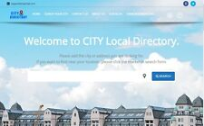 City Listing Directory - Profitable Website for Sale