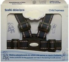 Baby Toddler Walking and Pram Safety Harness Reins Strap - Dark Navy