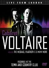 Cabaret Voltaire-Live From London DVD NUOVO