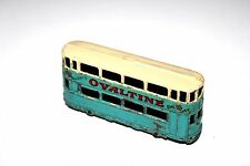 Dinky Toys Pre War Ovaltine Tram Car # 27 With Metal Wheels !!!