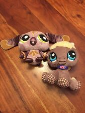 LPS Littlest Pet Shop Plush ~ Lot of 2 ~ Horse And Bunny Stuffed Toys 25