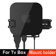 Wall Mount Case Bracket Holder Tray Fr Apple TV 2 3 4 Box AirPort Express Series