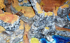 Warhammer LOTR Lord of the Rings The Hobbit scenario 120x65 - handmade & painted