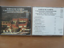 Fryderyk Chopin/Kartause Gaming V. Internationales Chopin-Festival 1989 14 Tr/CD