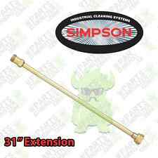 Simpson 31 Inch Spray Wand Gun Jet for Pressure Washers NEW / Extension Lance