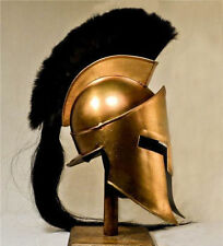 New Movie Spartan King-Leonidas+Medieval Roman Helmet Greek Liner Reenactment ..