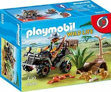 Playmobil 6939 WILDLIFE RANGER WITH QUAD AND ANIMALS      BRAND NEW / SEALED