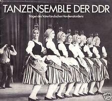 Tanzensemble der DDR, Tourneeprogramme der Spielzeit 1977/78