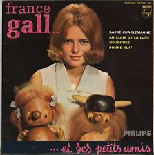 "FRANCE GALL ""SACRE CHARLEMAGNE"" 60'S EP PHILIPS 434.962"