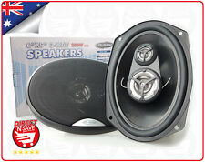 "6 x 9"" Car Audio Speakers 3 Way Pair. 250 Watts 4 Ohm US Audio Branded USA-69"