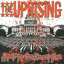Appetite for Deception by The Uprising CD Pennywise 07 Long Live Crime Records