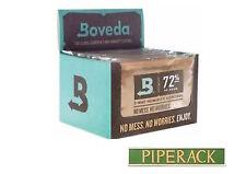 Boveda 72% HR 2-way control de humedad, gran tamaño de 60 gramos, 12-Pack Caja Completa