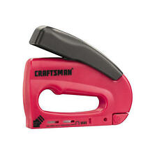 Craftsman Forward Action Light Duty Staple Gun Easyfire Stapler 68513 Brand New
