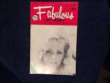 Fabulous Las Vegas Magazine Petula Clark Robert Goulet Donna Wallace 7/19/1969