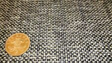 BLACK GOLD WHITE UPHOLSTERY CAMPER CARAVAN BED SEAT COVER CAR CUSHION FABRIC 3M