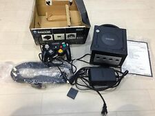 Nintendo Black Game Cube Console NTSC-J Japan USED DOL-001